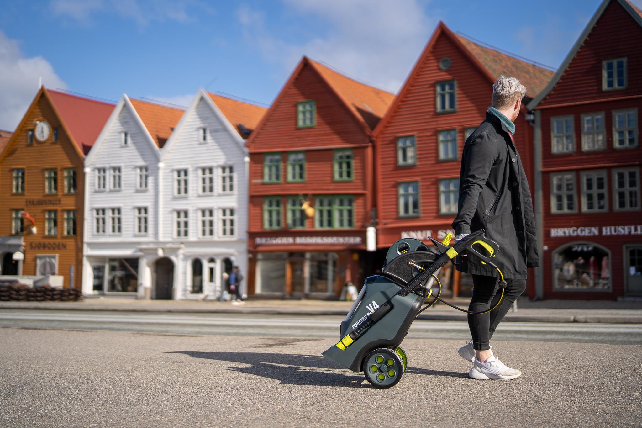 Evolution Bryggen Bergen